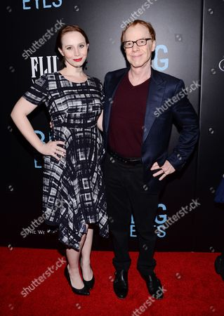 """Danny Elfman and daughter Mali Elfman attend the """"Big Eyes"""" premiere at the Museum of Modern Art, in New York"""
