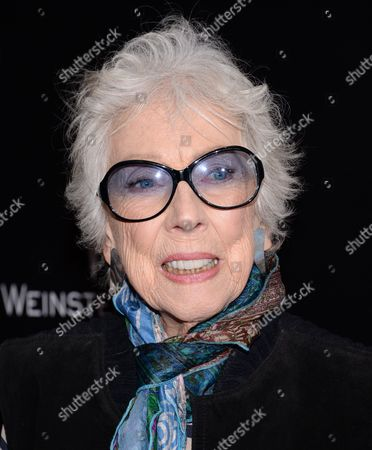 """Artist Margaret Keane attends the """"Big Eyes"""" premiere at the Museum of Modern Art, in New York"""