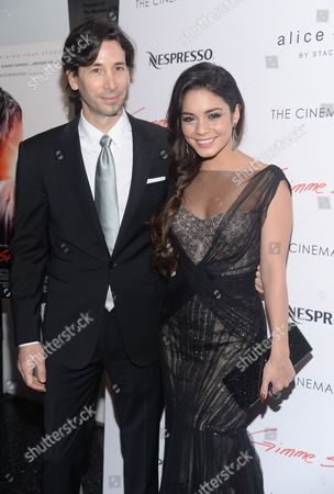 "Stock Image of Writer and director Ronald Krauss and actress Vanessa Hudgens attend a special screening of ""Gimme Shelter"" hosted by The Cinema Society at the Museum of Modern Art on in New York"