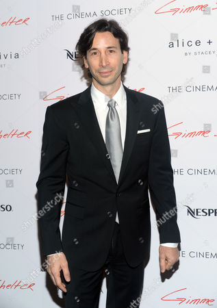 "Writer and director Ronald Krauss attends a special screening of ""Gimme Shelter"" hosted by The Cinema Society at the Museum of Modern Art, in New York"