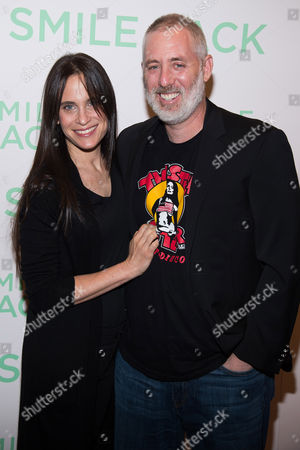 """Amy Koppelman and Brian Koppelman attend a special screening of """"I Smile Back"""" at The Museum of Modern Art, in New York"""