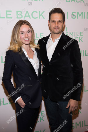 """Sophie Flack and Josh Charles attend a special screening of """"I Smile Back"""" at The Museum of Modern Art, in New York"""