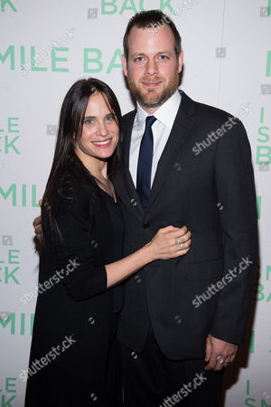 "Amy Koppelman and Adam Salky attend a special screening of ""I Smile Back"" at The Museum of Modern Art, in New York"