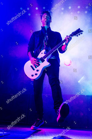 Jerry Horton with Papa Roach performs at The Tabernacle, in Atlanta