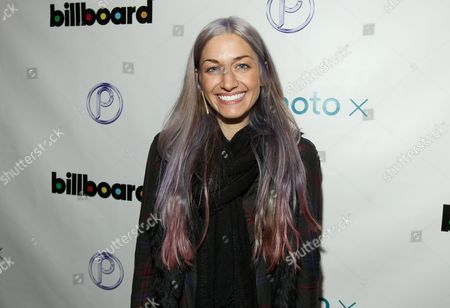Stock Image of Gabrielle Wortman is seen at PCL Day Lounge Day 2 on in Park City, Utah