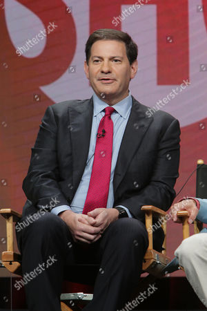 Mark Halperin, Executive Producer and host of 'The Circus', speaks at Showtime 2016 Summer TCA Press Tour at The Beverly Hilton Hotel, in Los Angeles