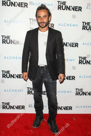 """Editorial photo of Special Screening of """"The Runner"""", Los Angeles, USA"""