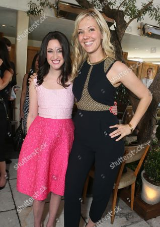 Micaela Erlanger, left, and Tara Swennen attend The Hollywood Reporter & Jimmy Choo Celebration of the Most Powerful Stylists in Hollywood,, in West Hollywood, Calif