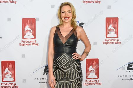 Stock Image of Allison McAtee attends the Recording Academy Producers and Engineers Wing 8th Annual Grammy Week Event at The Village Recording Studios, in Los Angeles