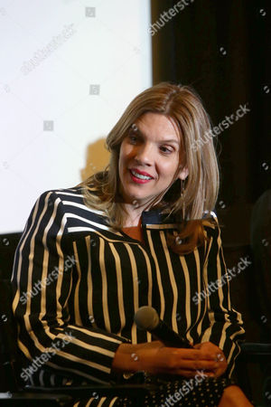 """Executive Producer/Writer Krista Vernoff seen at The Women of """"Shameless"""" Panel at The London West Hollywood, in West Hollywood, CA"""