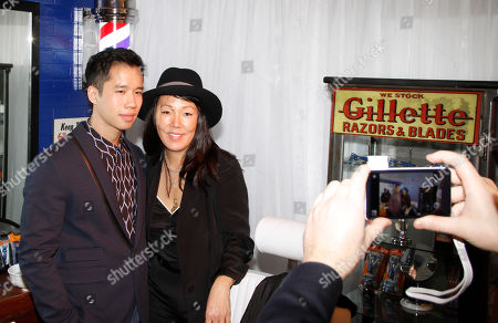 Jerad Eng and Jeanne Yang attend unite4:good and Variety's unite4:humanity at Sony Pictures Studios, in Culver City, Calif