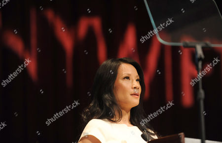 Lucy Liu is honored at the 32nd annual Muse Awards presented by New York Women in Film & Television (NYWIFT), in New York. The event also honored actress Mariska Hargitay, Kim Martin, President & General Manager WE tv, Lisa F. Jackson, documentary filmmaker, and Debra Zimmerman, of Women Make Movies