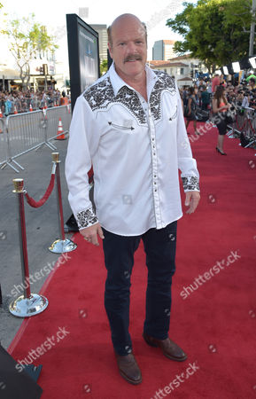 """Rex Linn arrives at the world premiere of """"A Million Ways To Die In The West"""" at the Regency Village Theatre, in Los Angeles"""