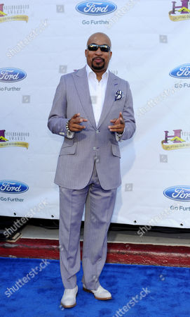 Stock Photo of Actor Thomas 'Nephew Tommy' Miles arrives at the 11th Annual Ford Neighborhood Awards, on at the MGM Grand Garden Arena in Las Vegas, Nevada