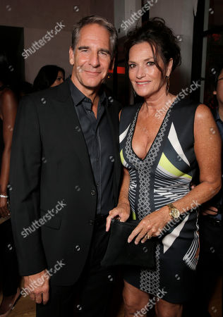 Scott Bakula, left, and Chelsea Field attend Entertainment Weekly's Pre-Emmy Party sponsored by L'Oreal Paris and Hearts On Fire at Fig & Olive in West Hollywood, Calif. on