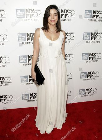 """Stock Photo of Heloise Godet attends a screening of """"Maps To The Stars"""" at the New York Film Festival on in New York"""
