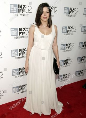Stock Picture of Heloise Godet attends a screening of 'Maps To The Stars' at the New York Film Festival on in New York