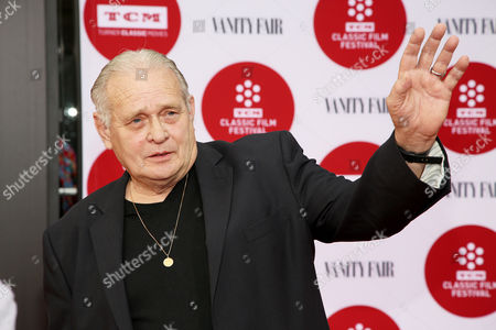 Stock Image of Bo Hopkins arrives 2014 TCM Classic Film Festival's Opening Night Gala at the TCL Chinese Theatre on in Los Angeles