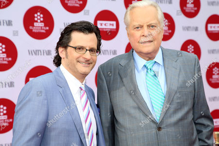Ben Mankiewicz, left, and Robert Osborne arrive at 2014 TCM Classic Film Festival's Opening Night Gala at the TCL Chinese Theatre on in Los Angeles