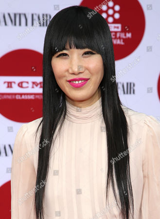 Vivian Bang arrives at 2014 TCM Classic Film Festival's Opening Night Gala at the TCL Chinese Theatre on in Los Angeles