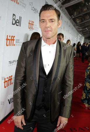 """Marton Csokas seen at Columbia Pictures Premiere of """"The Equalizer"""" at 2014 TIFF, in Toronto"""