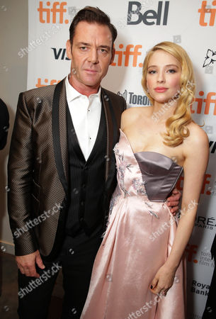"""Marton Csokas and Haley Bennett seen at Columbia Pictures Premiere of """"The Equalizer"""" at 2014 TIFF, in Toronto"""
