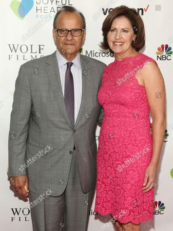 Stock Photo of Joe Torre, left, and Ali Torre, right, attend the 2016 Joyful Revolution Gala, hosted by The Joyful Heart Foundation, at David Geffen Hall, in New York