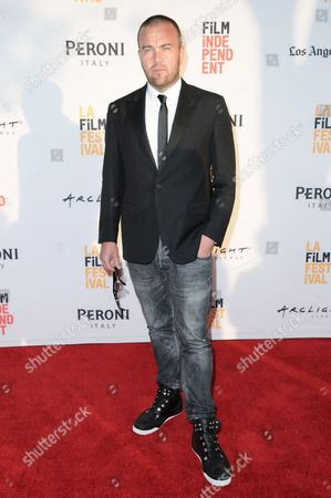 """Stock Image of Leon Butler attends """"A Hundred Streets"""" premiere held at ArcLight Cinemas, in Culver City, Calif"""