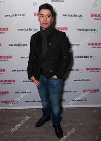 Actor Arash Marandi poses at the Shudder/Midnight party during the 2016 Sundance Film Festival, in Park City, Utah