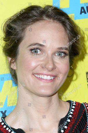 """Rachel Blanchard arrives at the screening of """"You Me Her"""" during South By Southwest at the Austin Convention Center, in Austin, Texas"""