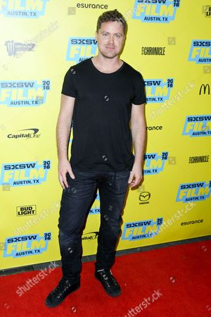 """Stock Picture of Greg Poehler arrives at the screening of """"You Me Her"""" during South By Southwest at the Austin Convention Center, in Austin, Texas"""