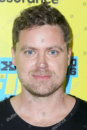 """Greg Poehler arrives at the screening of """"You Me Her"""" during South By Southwest at the Austin Convention Center, in Austin, Texas"""