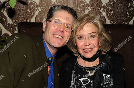 Stock Photo of From left, Tom Bergen and June Foray attend the 65th Primetime Emmy Awards Performers Nominee Reception, on at Spectra by Wolfgang Puck at the Pacific Design Center, in West Hollywood, Calif
