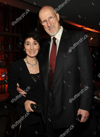 From left, Anna Stuart and James Cromwell attend the 65th Primetime Emmy Awards Performers Nominee Reception, on at Spectra by Wolfgang Puck at the Pacific Design Center, in West Hollywood, Calif