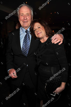 From left, Jerry Weintraub and Susan Ekins attend the 65th Primetime Emmy Awards Performers Nominee Reception, on at Spectra by Wolfgang Puck at the Pacific Design Center, in West Hollywood, Calif