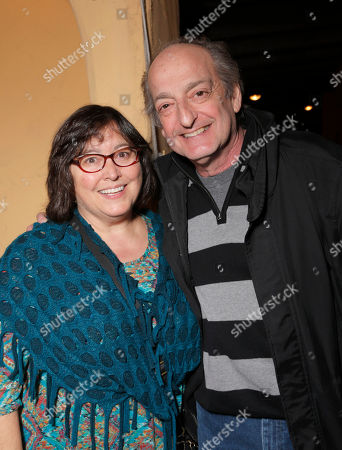 "Liz Paymer and David Paymer attend a Special Screening of Millennium Entertainment's ""The Humbling"" at Raleigh Studios on Saturday, December 7th, 2014 in Los Angeles"