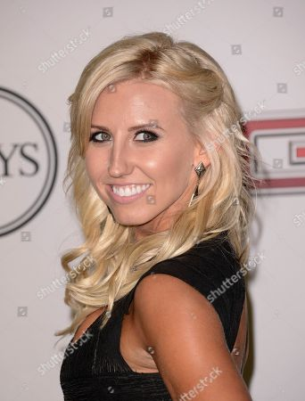 Courtney Force arrives at the Body at ESPYs party at the Lure Nightclub on in Los Angeles