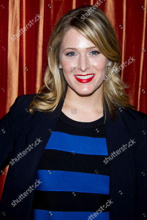 "Kate Cullen Roberts attends a press event for the new Broadway adaptation of ""Breakfast at Tiffany's"" on in New York"
