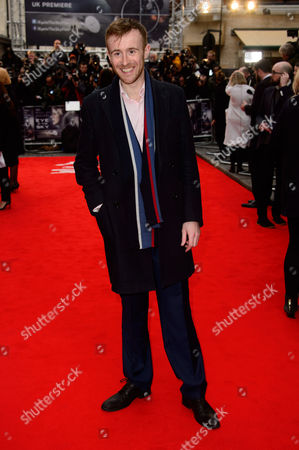 John Heffernan poses for photographers upon arrival at the UK premiere of the film 'Eye In The Sky' at a central London cinema, London