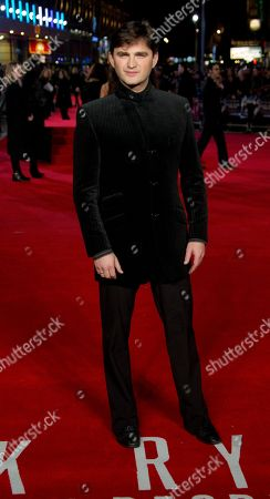 Lenn Kudrjawizki arrives on the red carpet for the European Premiere of Jack Ryan: Shadow Recruit at a cinema in Leicester Square, central London