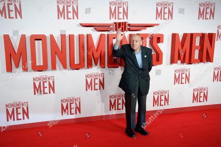 "WWII Veteran Harry Ettlinger arrives for the UK Premiere of ""The Monuments Men"" at a central London cinema, London"