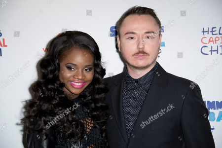 A*M*E and Duke Dumont arrive for the Capital FM Summertime Ball, Wembley Stadium, London