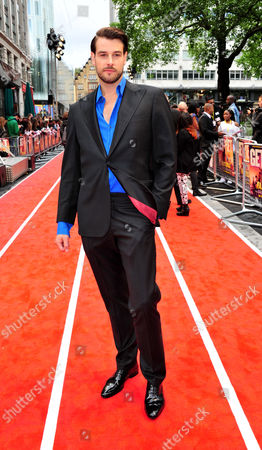 Regan Hall arrives at the Fast Girls World Premiere at Odeon West End on in London