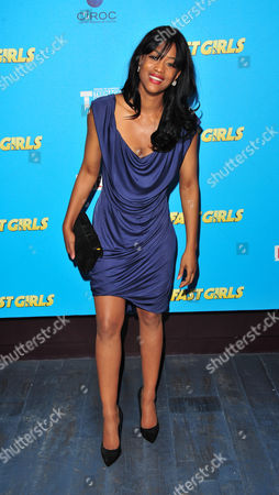Stock Picture of Tiana Benjamin arrives at the Fast Girls World Premiere - After Party at Paramount on in London