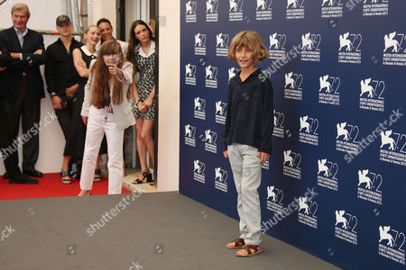 Editorial image of FF The Childhood of a Leader Photo Call, Venice, Italy