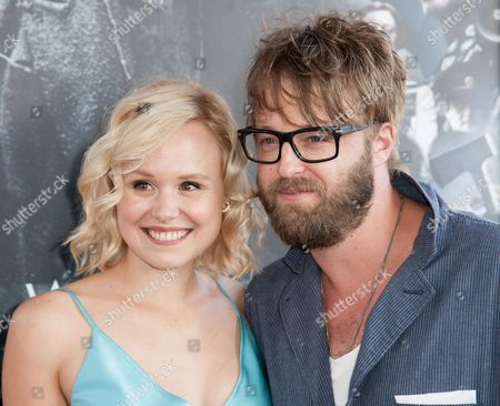 "Stock Image of Alison Pill, left, and Josh Leonard arrive at the Los Angeles Film Festival Opening Night Gala - ""Snowpiercer"" on in Los Angeles"