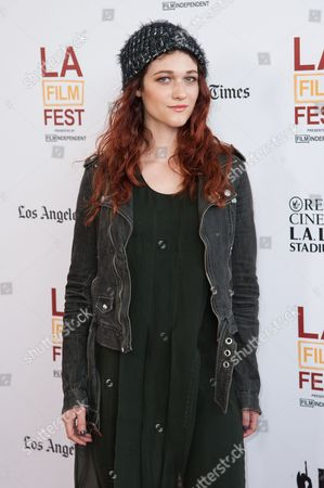 """Nicole Fox arrives at the Los Angeles Film Festival Opening Night Gala - """"Snowpiercer"""" on in Los Angeles"""