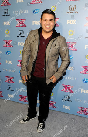 "Editorial image of FOX's ""The X Factor"" Season 3 Finalists Party, Beverly Hills, USA"