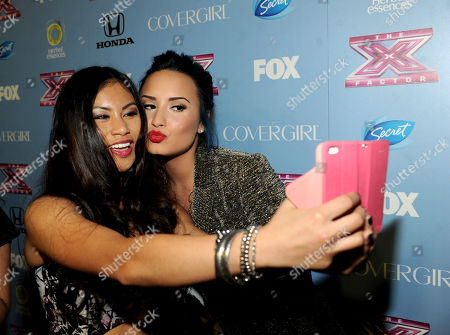 """Editorial photo of FOX's """"The X Factor"""" Season 3 Finalists Party, Beverly Hills, USA"""