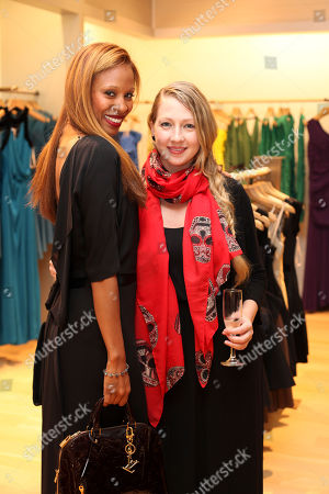 Editorial image of Halston Heritage Fashion Island Boutique Opening, Newport Beach, USA